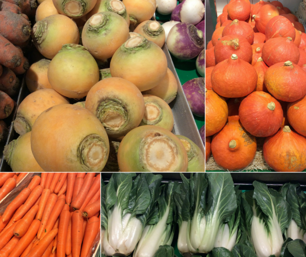 Légumes d'Hiver - La Marnière